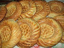 Patyr ~ Uzbek bread