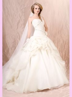 A dream wedding gown