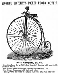 11 best highwheel bicycles images on pinterest bicycle design Vintage Rolex Watches photographic prints of bicycle camera ad 1887 american newspaper advertisement for a bicycle camera