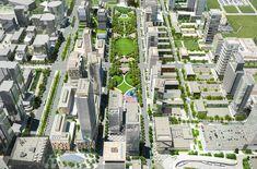 Centro metropolitano de Vaughan / Central Park