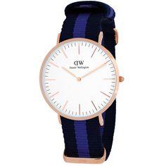Daniel Wellington Women's Swansea 0504DW Two-tone Automatic Dial Watch