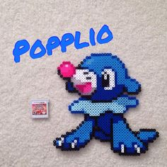 Hey guys! I'm back to doing Perler creations and today it's going to be the new water starter, ...