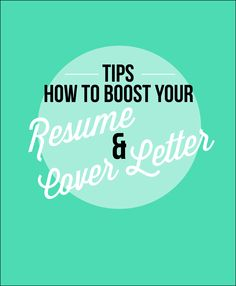 Tips for your resume & cover letter. Great tips for job interview CDE Cover Letter Tips, Writing A Cover Letter, Cover Letter For Resume, Cover Letters, Resume Help, Best Resume, Resume Tips, Sample Resume, Effective Cover Letter