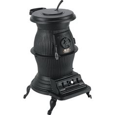 Cast Iron Pot Belly Stove My Grandmother Burned Coal In Hers For Heat