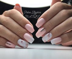 Light Pink Nail Designs Ideas 34 pink and white nails trends for spring and summer 2020 Light Pink Nail Designs. Here is Light Pink Nail Designs Ideas for you. Light Pink Nail Designs 32 super cool pink nail designs that every girl will l. Pink White Nails, Light Pink Nails, Pink Nail Art, Blush Pink Nails, White Manicure, Matte Pink, Black Nails, Winter Nails, Spring Nails