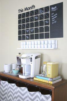 dream green diy great idea for coffee station unique diy coffee station