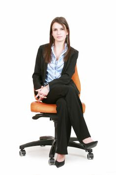 Imagen libre de derechos: Woman on a Chair