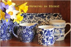 Happy Spring! Hopefully the sun is shining where are you are! Find our lovely Burleigh pottery here: http://www.thebeeskneesbritishimports.com/categories/Burleigh/