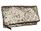 BCBGeneration - Bailey Foldover Clutch (Antique Gold) - Bags and Luggage