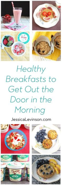 instead of skipping breakfast give your kids one of these healthy breakfasts to get out