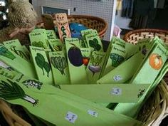 Cool way to get the kids involved with the vegetable garden this year. Make markers out of paint stir sticks.