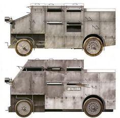 Los blindados de ruedas autóctonos en la Guerra Civil Española | Todo sobre la Segunda Guerra Mundial