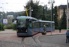 New Tram from Pragoimex in Liberec (CZ) Train Light, Rail Europe, Heavy And Light, Speed Training, Light Rail, Mode Of Transport, Transportation Design, Train Station, Czech Republic