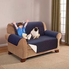 Water-Resistant Sofa Protector - 3 Sizes