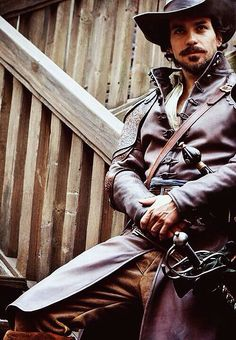 Santiago Cabrera as Aramis in The Musketeers- No, no, you may NOT turn your goatee in a feather earring. Can no one EVER ask Santiago about his beard in an interview ever again?