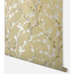 Wallpaper Paradise Wallpaper, Wallpaper Uk, Metallic Wallpaper, Designer Wallpaper, Embossed Wallpaper, Modern Color Palette, Modern Colors, Feature Chimney Breast, Yorkshire