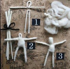 Make a Pipe cleaner doll