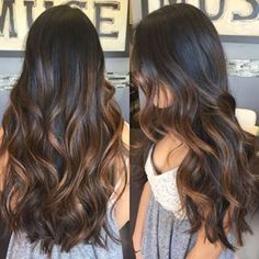 Long Wavy Ash-Brown Balayage - 20 Light Brown Hair Color Ideas for Your New Look - The Trending Hairstyle Brown Hair Balayage, Hair Color Balayage, Hair Highlights, Ombre Hair, Balayage Brunette Long, Long Brunette Hair, Curly Hair Styles, Natural Hair Styles, Light Brown Hair