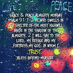 Grace & Peace Almighty Monday