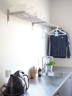 Home, Laundry Room, Loft Bed, House, Laundry In Bathroom, Room, Room Design, Mudroom, Bathroom