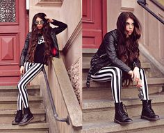 Beetlejuice Leggings by Black Milk Clothing http://thecaroline.devote.se/