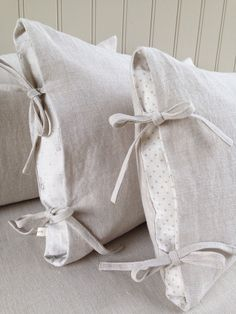 Beautiful cushions handmade by Clarabelle Interiors for Peony & Sage