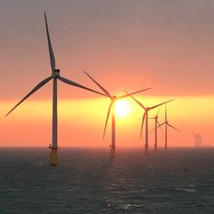 Another day another blessing!  . . #sunset #offshore #life #windmill #wind #blessed #renewableenergy #belgium #northsea
