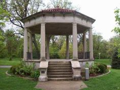 Washington Park Gazebo Springfield Illinois