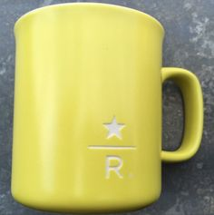 Starbucks City Mug Reserve Roastery Yellow 9oz mug