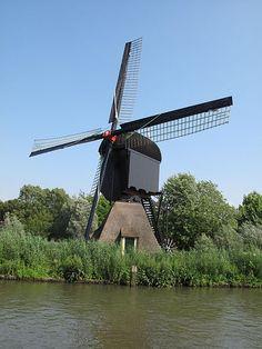 Geinoord 10 Nieuwegein - Oudegeinse molen, een Rijksmonument met delen uit 1666. De molen verzorgde tot 1955 de afwatering van polder Oudegein. De molen stond daarvoor op de oorspronkelijk locatie Vreeswijksche Straatweg 1-3 en is in 2003 herplaatst met de oorspronkelijke onderbouw en het waterrad.