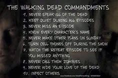 The Walking Dead - Those are very strict rules.  How about we just not follow them.
