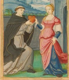 16th century (ca. 1520) France  Morgan Library M. 948: Roman de la Rose fol. 110v http://romandelarose.org/#book;Morgan948
