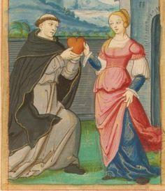 16th century (ca. 1520) France  Morgan Library M. 948: Roman de la Rose fol. 110v http://romandelarose.org/#book;Morgan948