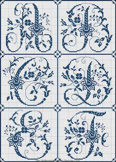 This site will blow your mind if you love embroidery.Free Easy Cross, Pattern Maker, PCStitch Charts + Free Historic Old Pattern Books: Sajou No 324 Cross Stitch Alphabet Patterns, Embroidery Alphabet, Cross Stitch Letters, Cross Stitch Designs, Embroidery Patterns, Stitch Patterns, Letter Patterns, Cross Stitching, Cross Stitch Embroidery