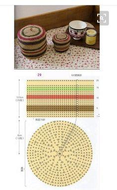 즐거운 한주 되시구요~~ 황사와 미세먼지 그리고 스트레스는 날려버지자구요~^^ Crochet Box, Crochet Doilies, Crochet Flowers, Crochet Stitches, Crochet Patterns, Lana, Projects To Try, Weaving, Cross Stitch