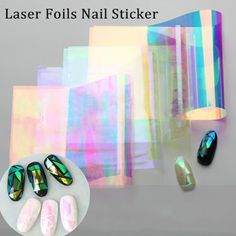 Born Pretty Store Blog: Stunning  Nail Foils Stickers For you !!!