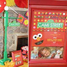Elmo Birthday Party.