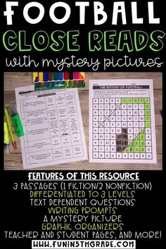 These reading activities are perfect for distance learning! They are print