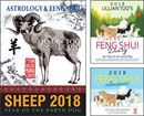"2018 Sheep Book Bundle Now Available for Pre-Orders! Save $11.60!  The Sheep in 2018 benefits from very strong ""lung ta"", the element energy that brings the WINDHORSE of success fortunes. This is helped by the presence of the Heavenly Star of 6 blowing very favourable winds of unexpected goof fortune your way. This is a year of pleasant surprises when good news magnifies the feel-good vibes coming to you. Take advantage of your strong life force but also stay protected by wearing powerful…"