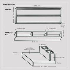 DIY berken multiplex wandbureau, maak 'm met dit stappenplan | vtwonen