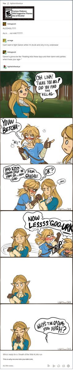 Alcohol Breath of the Wild