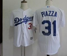 http://www.xjersey.com/dodgers-31-mike-piazza-white-new-cool-base-jersey.html Only$35.00 DODGERS 31 MIKE PIAZZA WHITE NEW COOL BASE JERSEY #Free #Shipping!