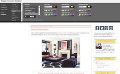 Blogger Template Premade Blog Theme Design by ThemeFashion
