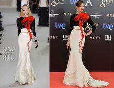 Nieves Alvarez In Stéphane Rolland Couture - 2013 Goya Cinema Awards - Red Carpet Fashion Awards