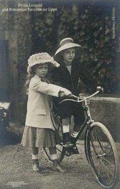 Prinz Leopold und Prinzessin Caroline von der Lippe