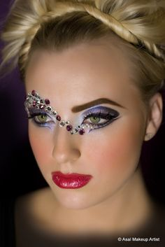 Exotic makeup portrait | Flickr - Photo Sharing!