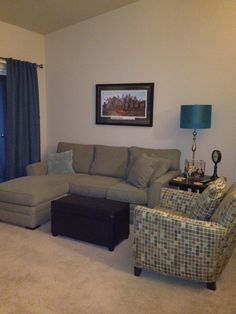 ca living room with jonathan louis furniture and a michael birawer piece custom framed
