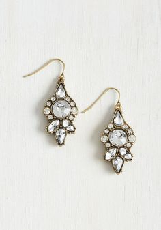 Supreme Gleaming Earrings $19.99 AT vintagedancer.com