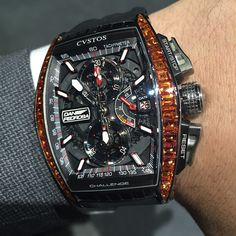 Cvstos Challenge Dani Pedrosa Orange Sapphires 26pcs Limited Edition.