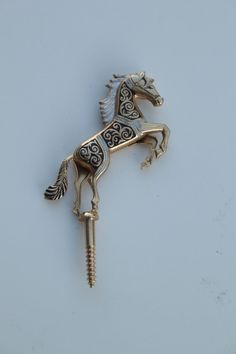 2 Vintage Horse knob pulls - 1970s. Wish I could find them somewhere...